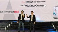 Peluncuran Samsung Galaxy A80 di Jakarta. Liputan6.com/Agustinus Mario Damar