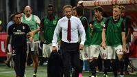 Sinisa Mihajlovic dipecat oleh manajemen Milan. GIUSEPPE CACACE / AFP