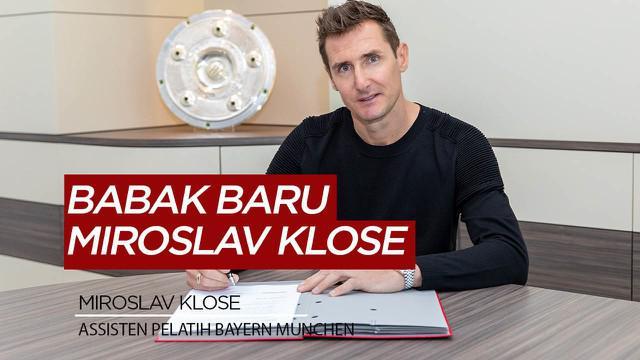 Berita Video Bundesliga bergulir lagi, Bayern Munchen langsung rekrut Miroslav Klose jadi asisten pelatih
