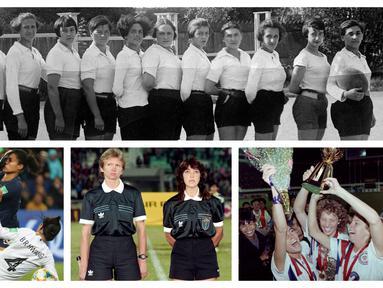 BBC mencatat laga resmi pertama sepak bola wanita dimainkan pada tahun 1881 di Inggris yang disaksikan ribuan orang. Pada tahun 1991, China menjadi tuan rumah Piala Dunia Wanita pertama. Dan Amerika Serikat menjadi negara yang meraih gelar piala dunia terbanyak.