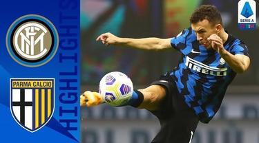 Berita video highlights Liga Italia 2020/2021 pekan keenam, Inter Milan bermain imbang 2-2 melawan Parma, Minggu (1/11/2020) tengah malam WIB.