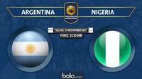 Persahabatan Internasional_Argentina Vs Nigeria (Bola.com/Adreanus Titus)