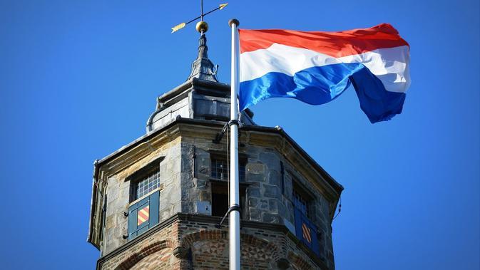 Bendera nasional Belanda (AFP)