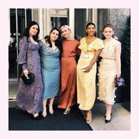 Gaun pesta warna cerah dari Kate Spade (Foto: Instagram @katespade)
