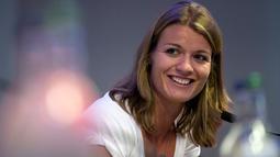 Dafne Schippers lahir di Utrecht, Belanda, pada tanggal 15 Juni 1992. (AFP/Justin Tallis)