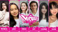 Virgo and The Sparklings. (Screenplay Bumilangit)