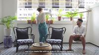 Inspirasi desain interior peranakan nan estetis di rumah. (dok. tangkapan layar YouTube/Stacked Homes)