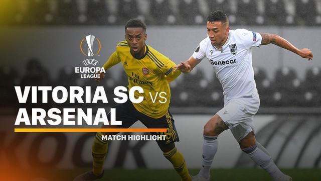 Berita video highlights matchday 4 Grup F Liga Europa 2019-2020 antara Vitoria Guimaraes melawan Arsenal yang berakhir dengan skor 1-1, Rabu (6/11/2019).