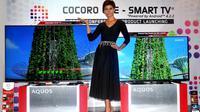 LED TV terbaru dari Sharp membenamkan fitur-fitur yang menyerupai indera manusia. TV ini diberi nama Cocoro Eye.