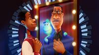 Ilustrator Indonesia Dinda Puspitasari  Live Jam bareng seniman Pixar, Scott Morse untuk Disney and Pixar's Soul. | Foto: instagram.com/disneyplushotstarid