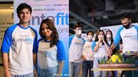 Suasana press conference & syukuran WeTV Original Cinta Fitri The Series. (Instagram/@cintafitri_md)