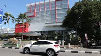 Salah satu Hotel di jalan Mohamad Hatta Palu yang tampak lengang sejak wabah Covid-19 melanda. (Foto: Liputan6.com/ Heri Susanto).