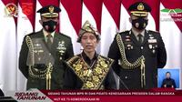 Presiden Joko Widodo di Sidang Tahunan MPR/DPR 2020. Dok