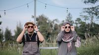 Potret Post Wedding Ricky Harun dan Herfiza. (Sumber: Instagram.com/hijazpictura)