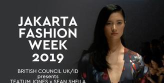 JFW 2019: British Council Uk/id presents Teatum Jones X Sean Sheila