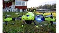 Drone pembawa defibrilator ini bisa menyelamatkan orang yang terkena serangan jantung (Sumber: BGR)