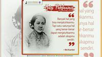 Hari Pahlawan - RA Kartini (Liputan6.com/pool/GerakanPramuka)