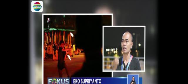 Dari 4.000 penari, Eko Supriyanto mendapat tugas membuat koreografi untuk 1.600 penari yang terbagi dalam 3 segmen.
