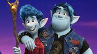 Poster film Onward. (Foto: Dok. IMDb/ Disney Pixar)