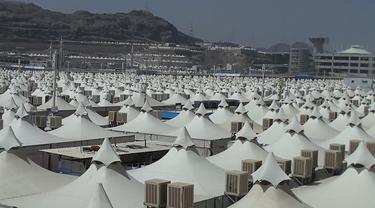 Tenda-tenda jemaah haji