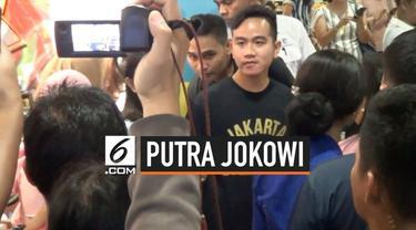 Nama putra Presiden Joko Widodo, Gibran Rakabuming menjadi yang terpopuler dalam survei calon wali kota Solo yang dilakukan Unisri Surakarta.