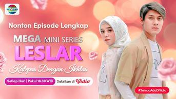 Nonton Episode Lengkap Mini Seri Kulepas Dengan Ikhlas di Vidio, Lesti Kejora dan Rizky Billar