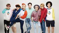 Pada 12 Maret lalu, boyband K-pop GOT7 merilis mini album berjudul Eyes On You. Mini album ini sendiri terdiri 6 lagu dengan tembang andalan berjudul Look. (Foto: Soompi.com)