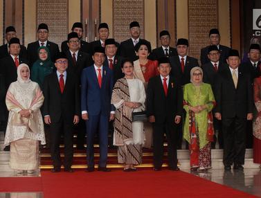 Menteri hingga Panglima TNI di Sidang Tahunan MPR