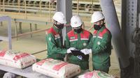 Semen Baturaja terapkan protokol kesehatan dalam segala sektor bidang kerjanya, mulai dari produksi hingga penjualan produknya (Dok. Humas Semen Baturaja / Nefri Inge)