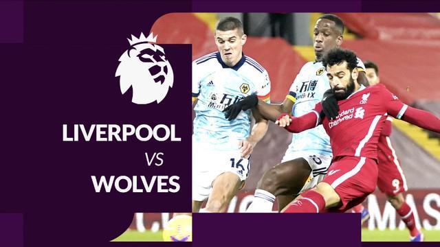 Berita motion grafis Liga Inggris 2020/2021 untuk laga pekan ke-11 antara Liverpool melawan Wolverhampton Wanderers yang berakhir dengan skor 4-0, Senin (7/12/2020) dinihari WIB.