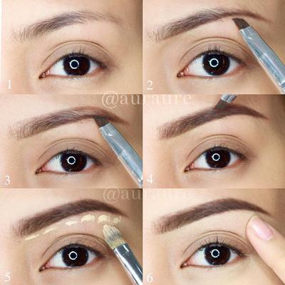Gambar Tutorial Make Up Alis Mata Saubhaya Makeup