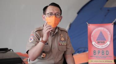 Kepala Pelaksana BPBD Jabar Dani Ramdan