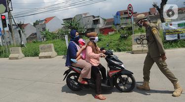 Cegah Warga Mudik, Polres Bogor Dirikan Pos Pengawasan