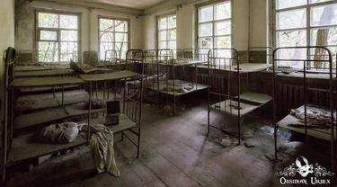 35 Tahun Berlalu, Ini 6 Potret Bangunan Bencana Nuklir Chernobyl yang Mengerikan