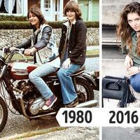 Sebelum kamu memakainya, dahulu baju ini hits lebih dulu di zaman mama kamu. (via: Brightside.me)