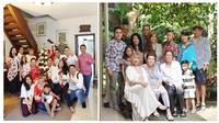 Keluarga beda agama (Sumber: Instagram/deelestari)