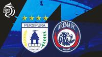 BRI Liga 1 - Persipura Jayapura Vs Arema FC (Bola.com/Adreanus Titus)