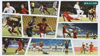 Kolase - Timnas Indonesia Vs Vietnam Vs Thailand Vs UEA (Bola.com/Adreanus Titus)