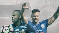 Thiago Furtuoso dan Robert Lima Guimaraes. (Bola.com/Dody Iryawan)
