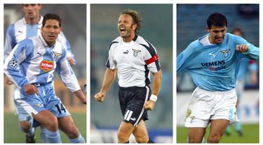Sven Goran Eriksson hanya 3 musim menangani Lazio, yaitu musim 1997/1998 hingga 1999/2000. Hasilnya, ia sukses menularkan kemampuan manajerialnya kepada anak asuhnya yang kini menjadi manajer sukses di Eropa. Siapa saja mereka? (Kolase Foto AFP)