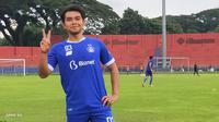 Galih Akbar, pahlawan Persik di Liga 3 2018 dan Liga 2 2019, akhirnya terlempar dari skuat Liga 1 2021. (Bola.com/Gatot Susetyo)