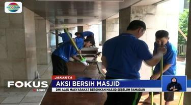 Nantinya sekitar 2000 masjid di Pulau Jawa akan di bersihkan sebelum memasuki Bulan Ramadan.
