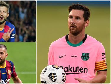 Lionel Messi dan Pemain Tua yang Tersisa di Barcelona Musim Ini