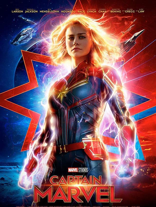 Poster Captain Marvel (Marvel Studios)