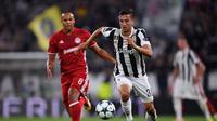 Gelandang Juventus, Rodrigo Bentancur. (AFP/Marco Bertorello)