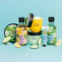 The Body Shop Indonesia melansir varian Cool Cucumber dan Zesty Lemon untuk memberikan sensasi segar di era new normal (Foto: the body shop)