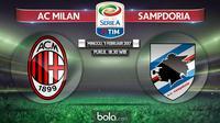 Serie A_AC Milan Vs Sampdoria (Bola.com/Adreanus Titus)