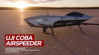 Berita Video Luncurkan Airspeeder Mk3, Balapan Mobil Terbang Listrik Segera Teralisasi