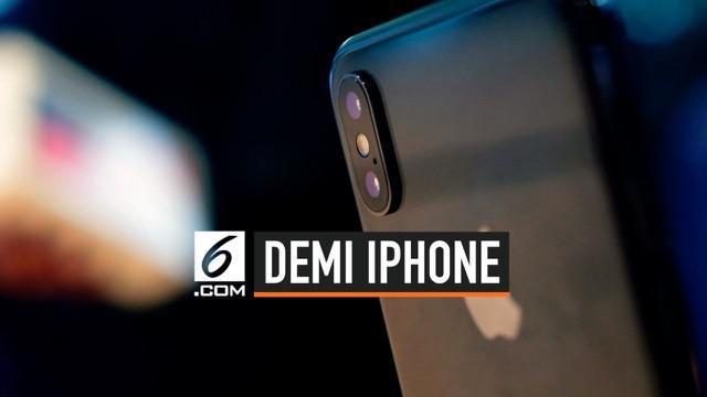 Demi memenuhi gaya hidup, seorang anak perempuan di Makassar rela membohongi orangtuanya supaya dapat membeli iPhone X.