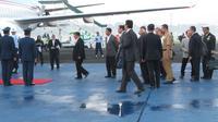 Wakil Presiden Jusuf Kalla atau JK bertolak ke Afghanistan. (Liputan6.com/ Putu Surya Putra)